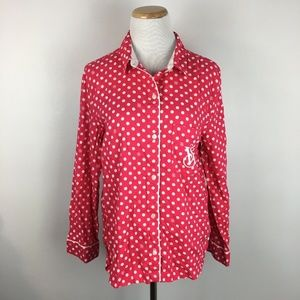 Victoria's Secret Women's Polka Dotted Shirt